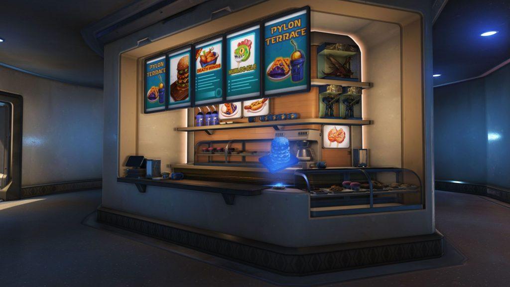 Overwatch BlizzardWorld Snaxxramas innen