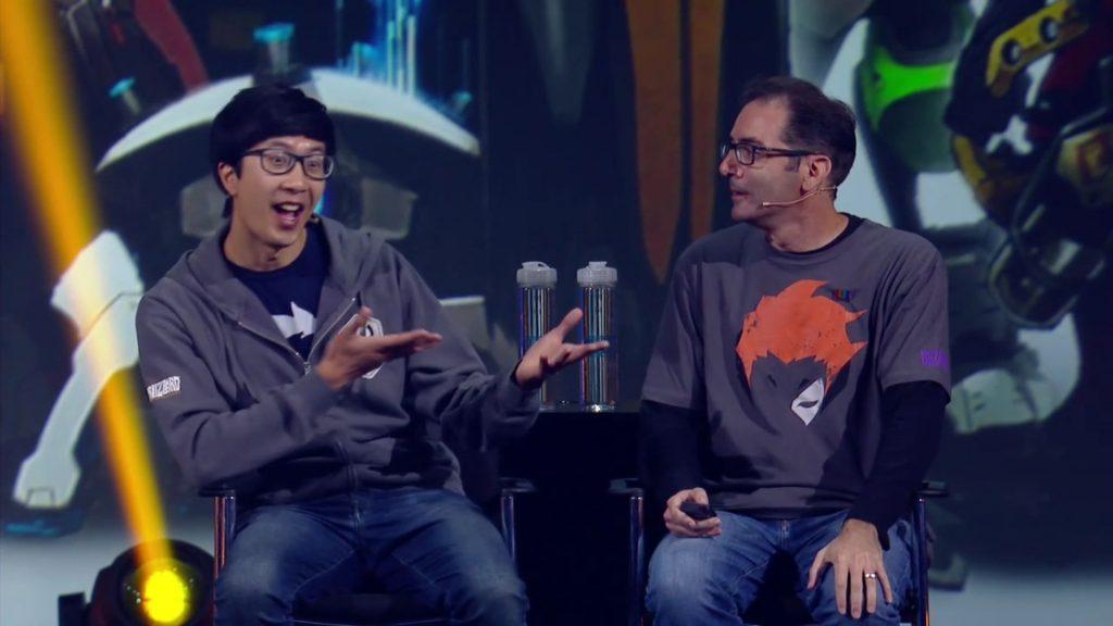 Overwatch Blizzcon Jeff Kaplan Arnold Tsang
