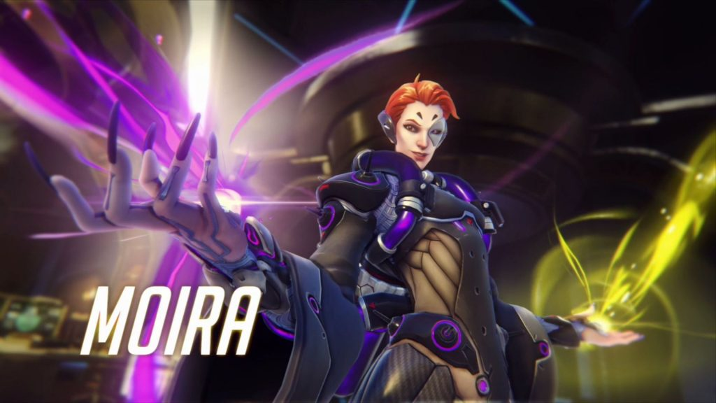 Overwatch Blizzcon Moira Title