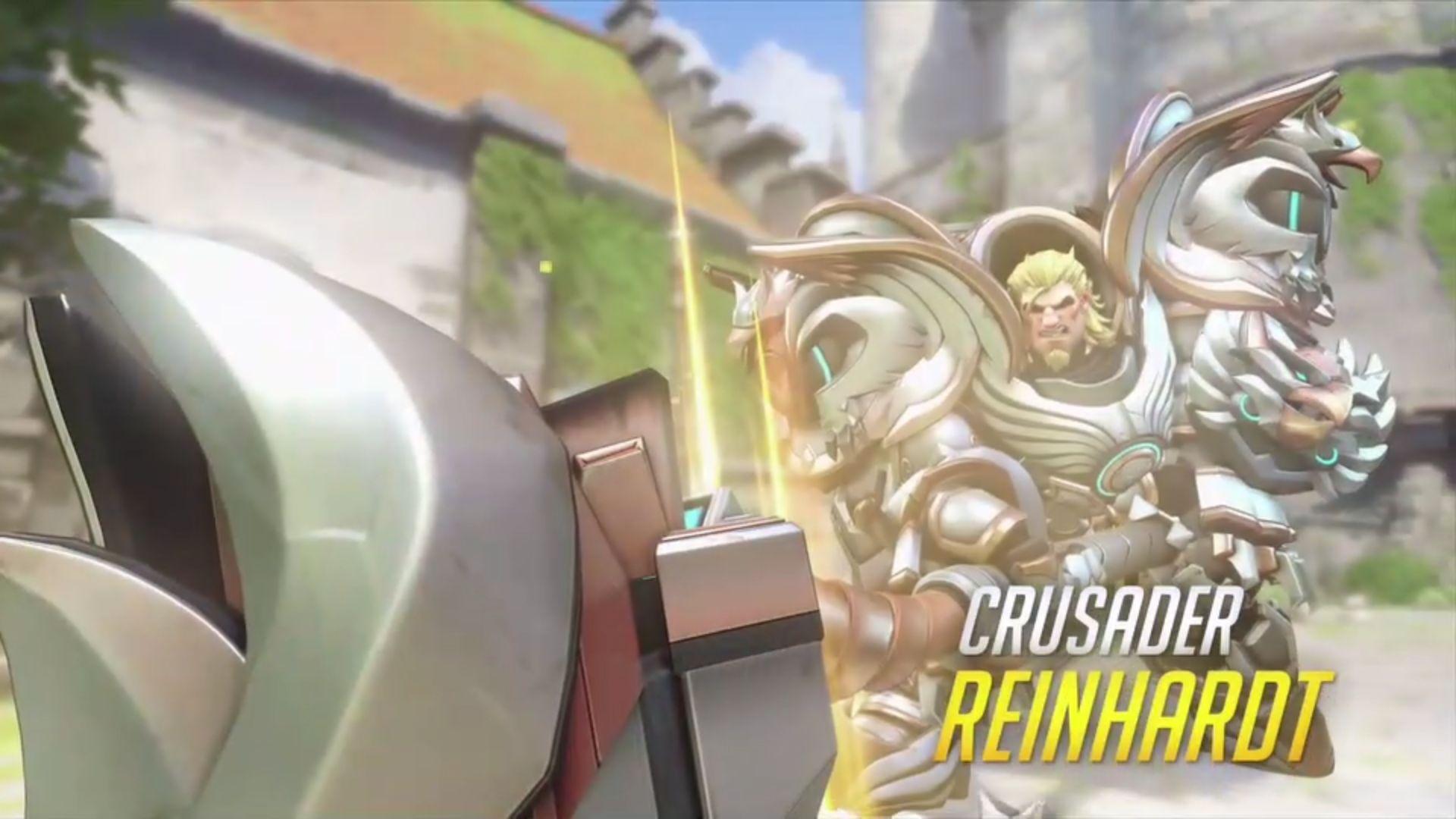 Overwatch New Skins Cursader Reinhardt