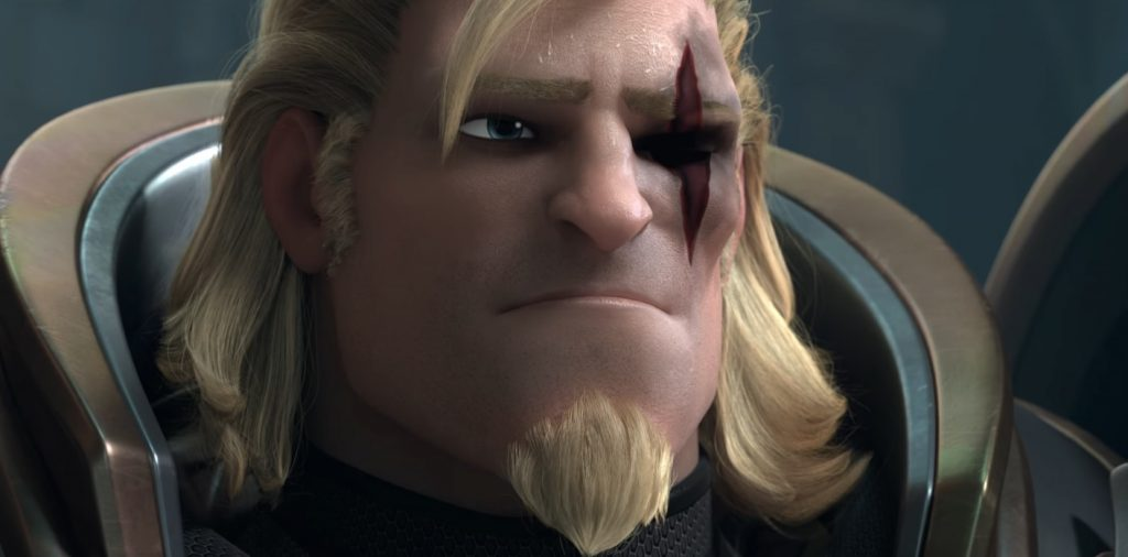 Overwatch Reinhardt Hair Amazing