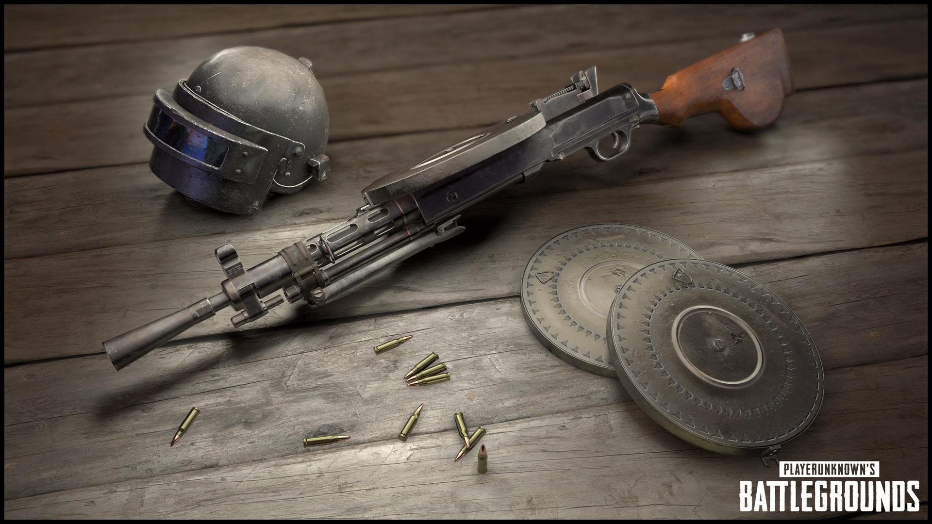 PUBG Neue Waffe DP-28 Kasten