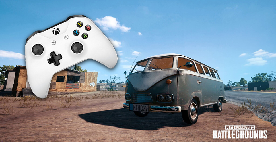 PUBG Xbox Titel Controller