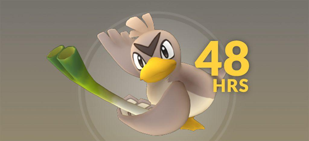 Pokémon GO Porenta Titel 48 Stunden
