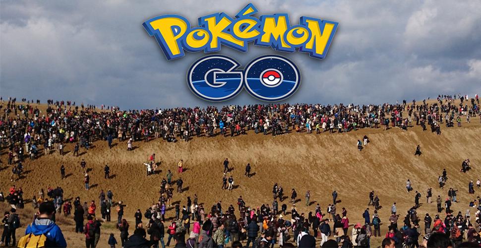 Pokémon GO Tottori Dünen Titel