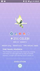 Pokemon GO Celebi 3D