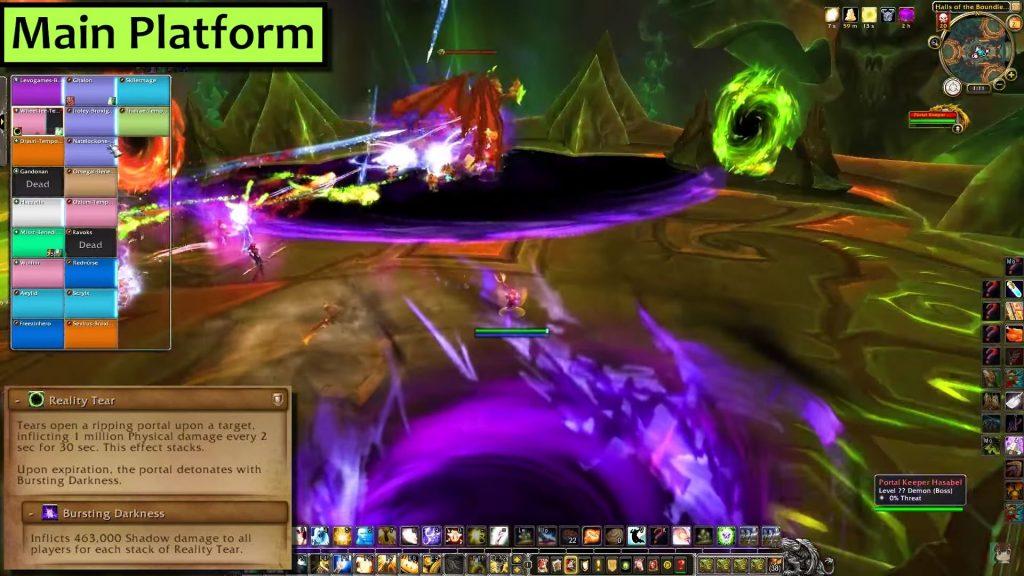 WoW Antorus Portalkeeper Hasabel Collapsing World Hazelnuttygames
