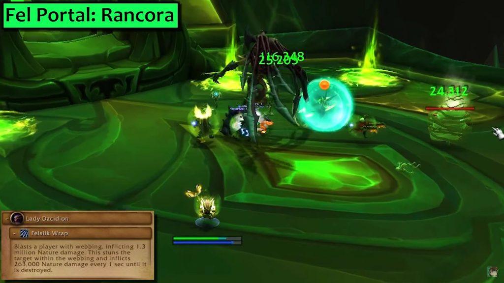 WoW Antorus Portalkeeper Hasabel Poison Portal inside hazelnuttygames