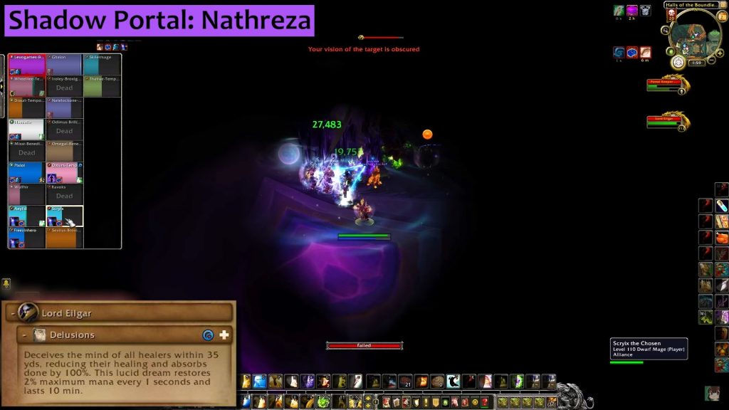 WoW Antorus Portalkeeper Hasabel Shadow Portal inside hazelnuttygames