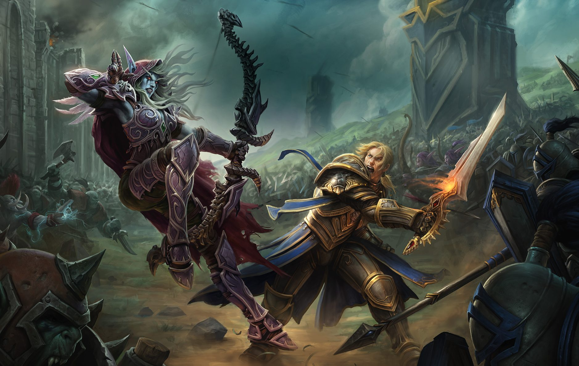 WoW Battle for Azeroth Background