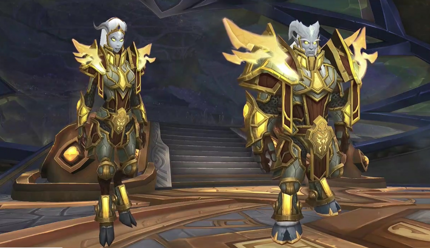 WoW Battle for Azeroth Lightforged Draenei