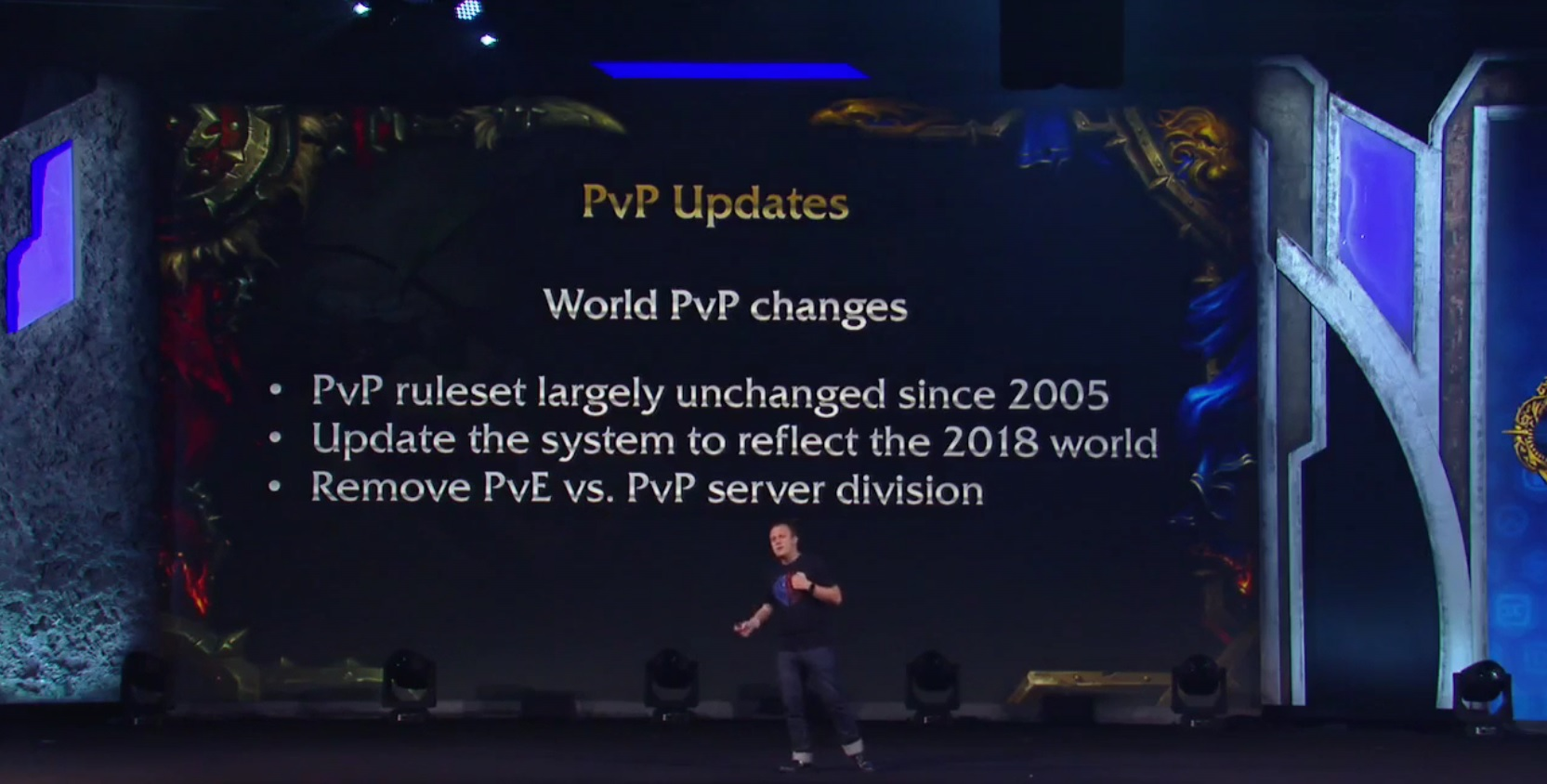 WoW Battle for Azeroth PvP changes