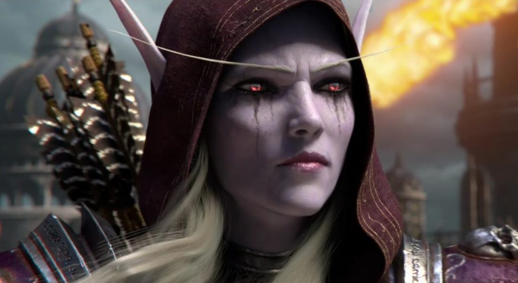 WoW Battle for Azeroth Sylvanas