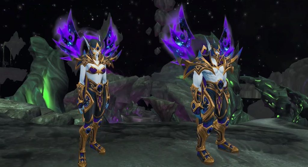 WoW Battle for Azeroth Voidelves