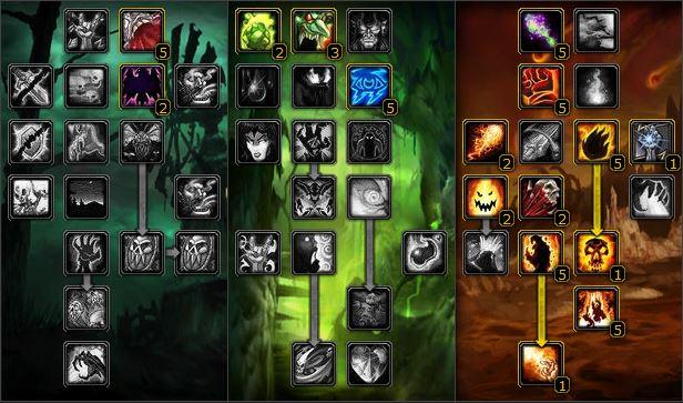 WoW Classic Warlock Talents