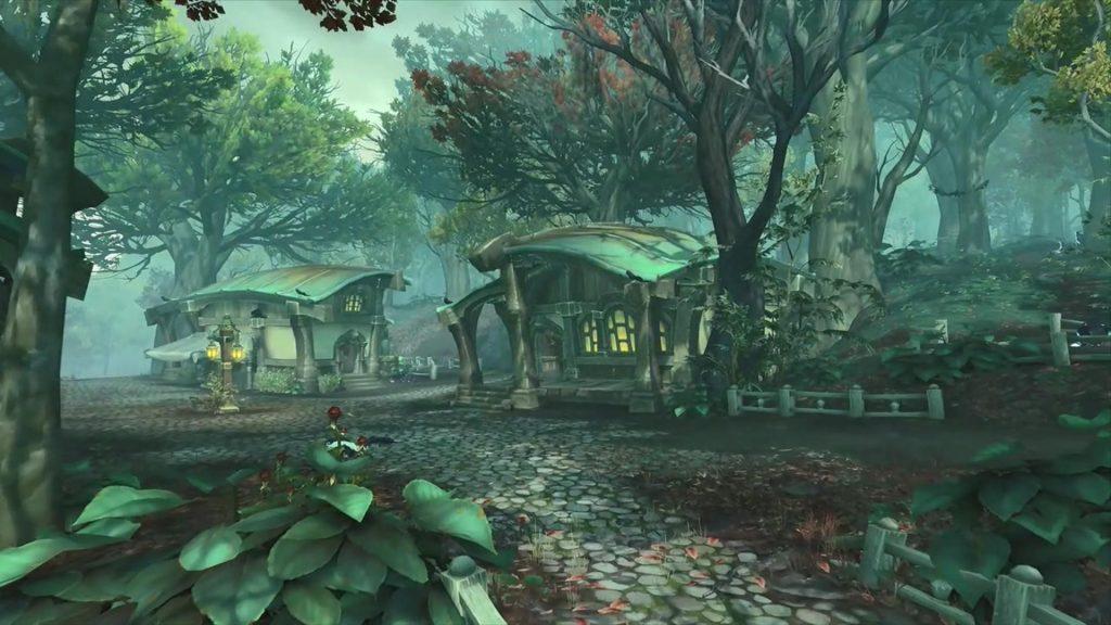 WoW Drustvar Haunted Forest