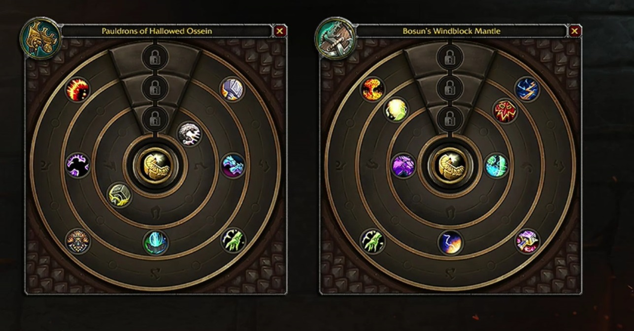 WoW Heart of Azeroth Choices