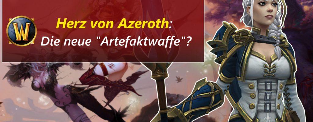 WoW: Herz von Azeroth – Artefakt-Halskette statt Artefakt-Waffe