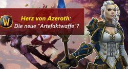 WoW Herz von Azeroth title