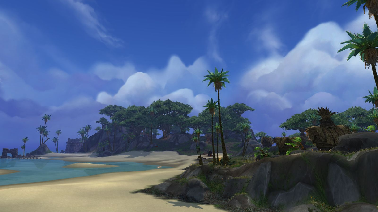 WoW Island Expedition Beach