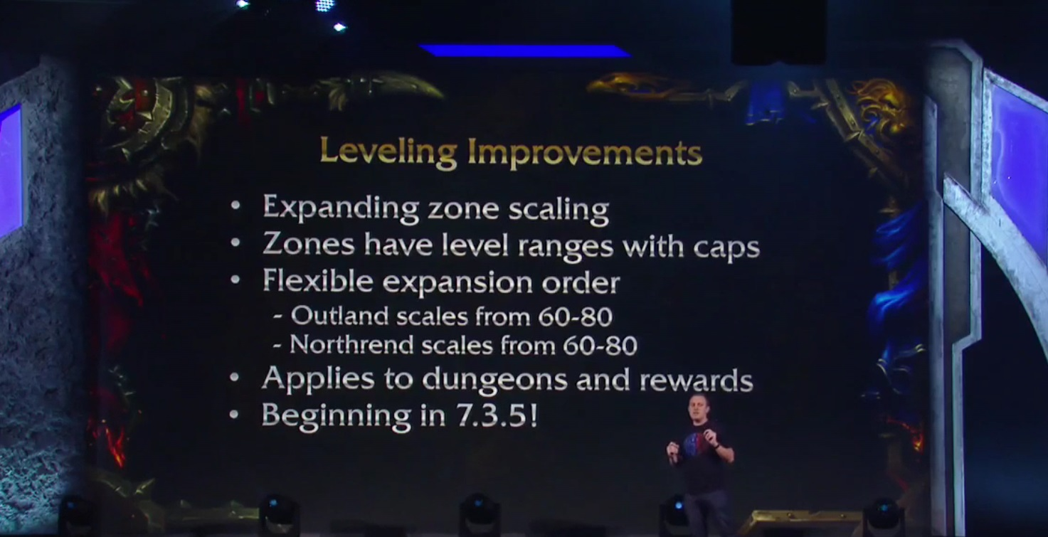 WoW Level Scaling whole Azeroth
