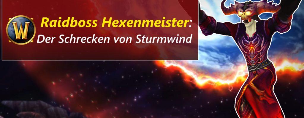 WoW: Hexenmeister wird zum PvP-Weltboss, terrorisiert Sturmwind
