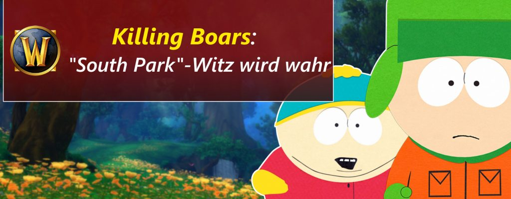 """WoW: Der """"South Park""""-Witz wird endlich wahr"""