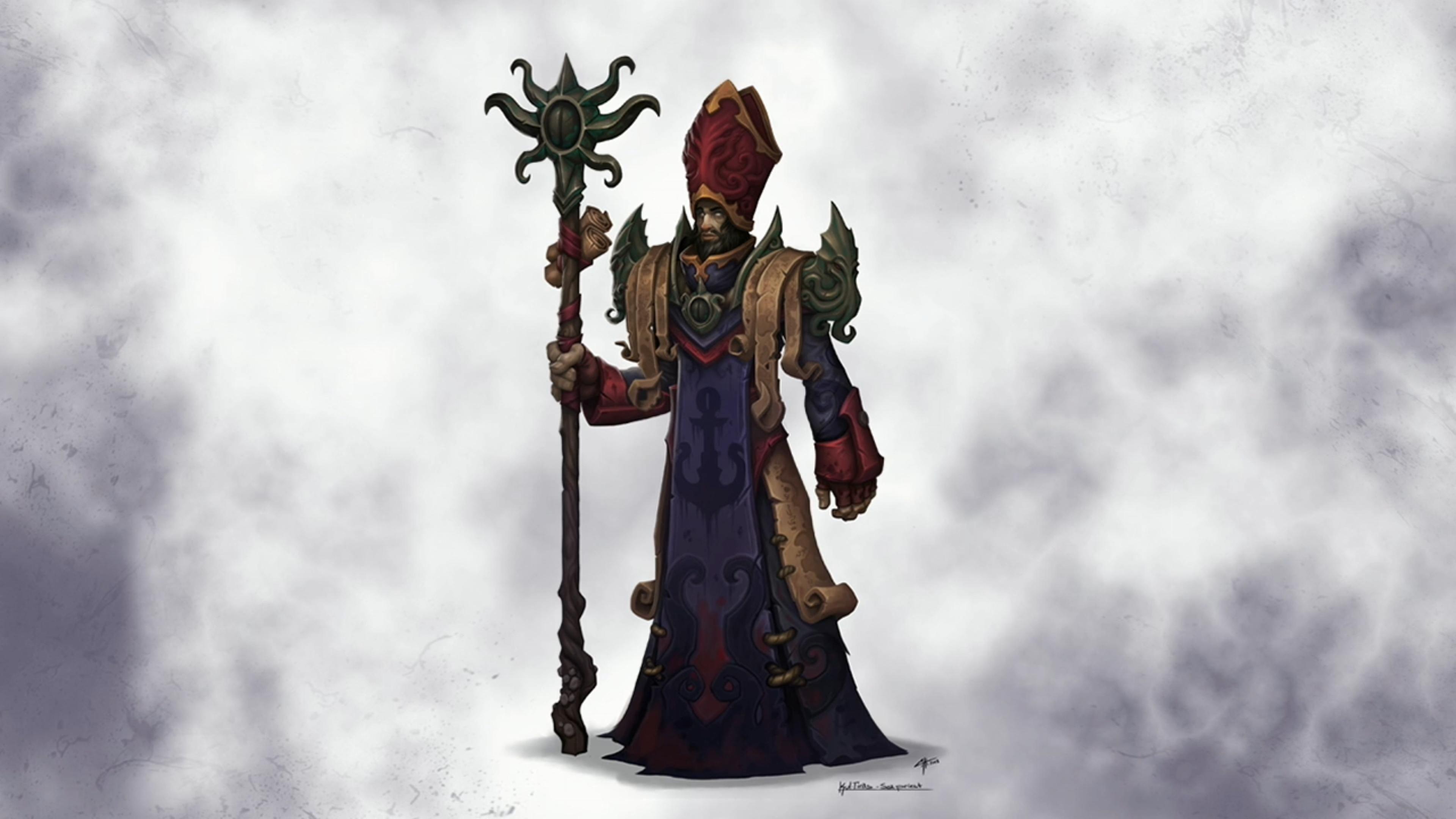 WoW Stormsong Valley Priest