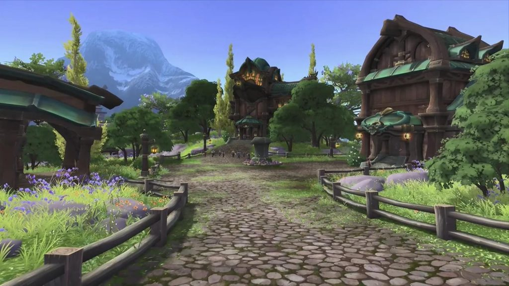 WoW Stormsong Valley nice