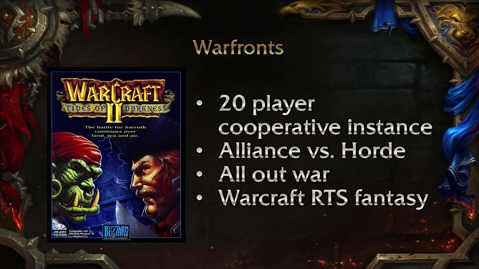 WoW Warfronts RTS-Feeling