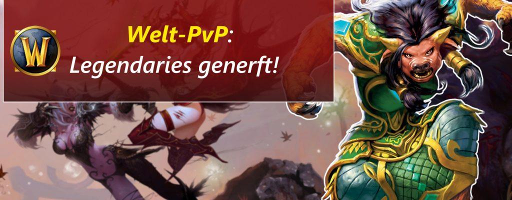 WoW: Hotfix – Blizzard macht das World-PvP gerechter!