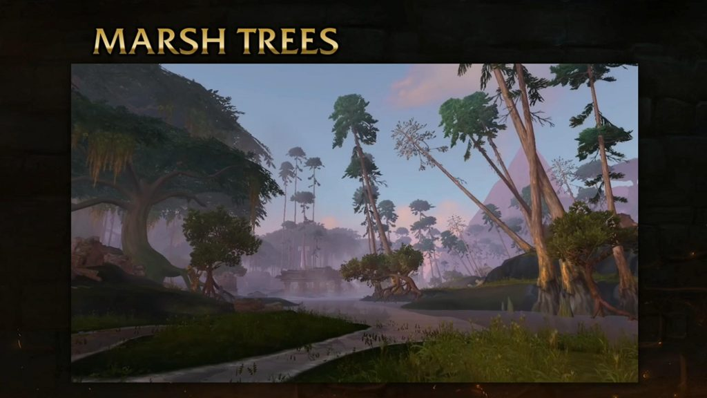 WoW Zandalar Marsh Tree