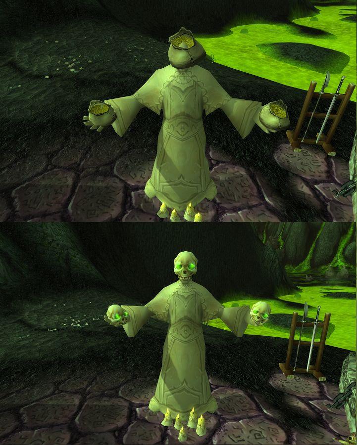 World of Warcraft WOW China Unterschiede Goblin Statue