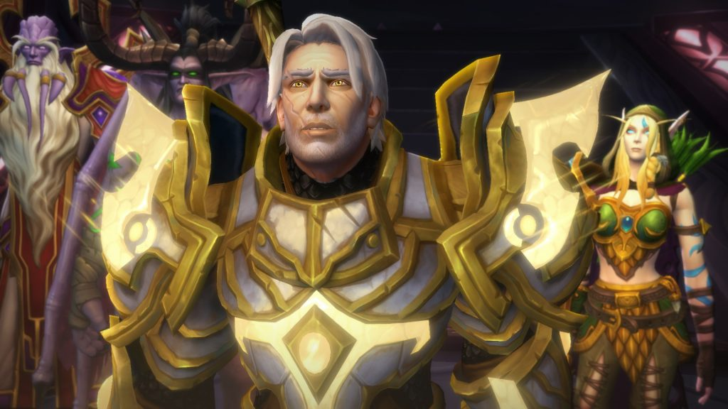 World of Warcraft WoW Turalyon Argus
