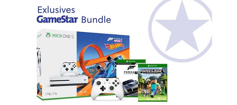 Xbox One S TB Mit Drei Spielen Controller GameStarBundle - Minecraft xbox spielen