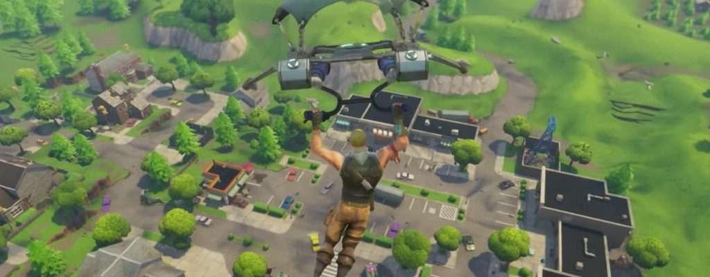 Schneller landen in Fortnite: Battle Royale – So geht's!