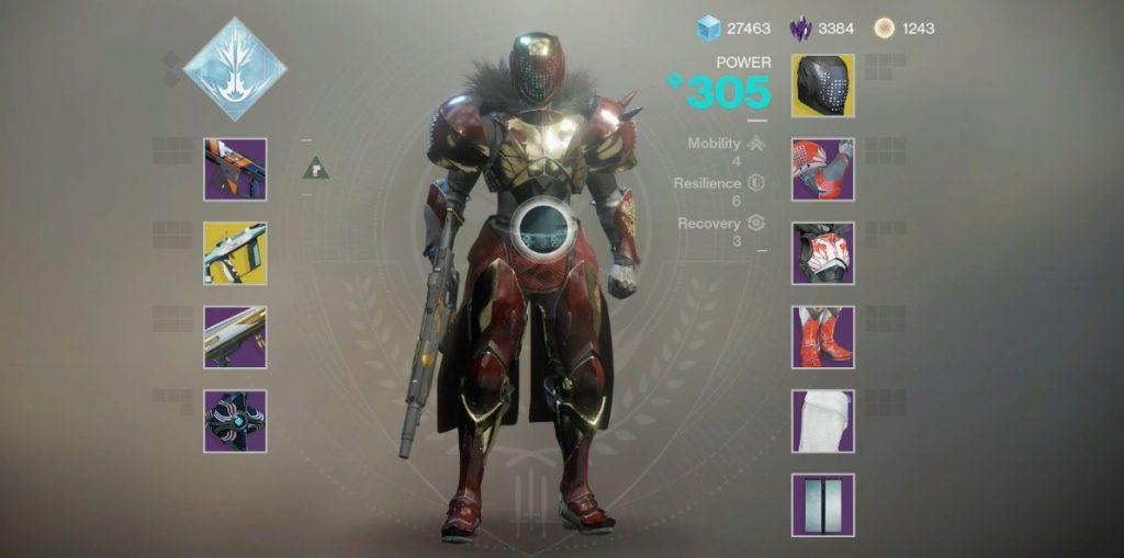 titan build