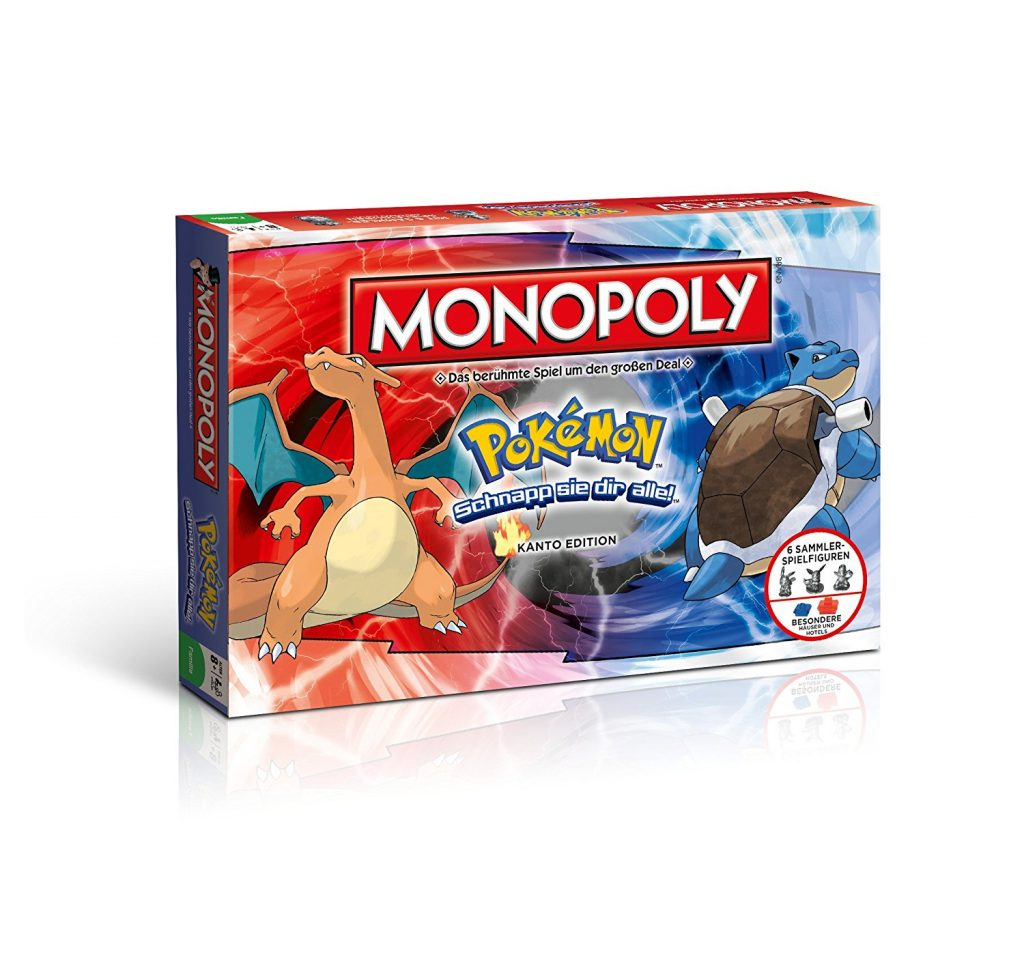Pokemon Monopoly Figuren