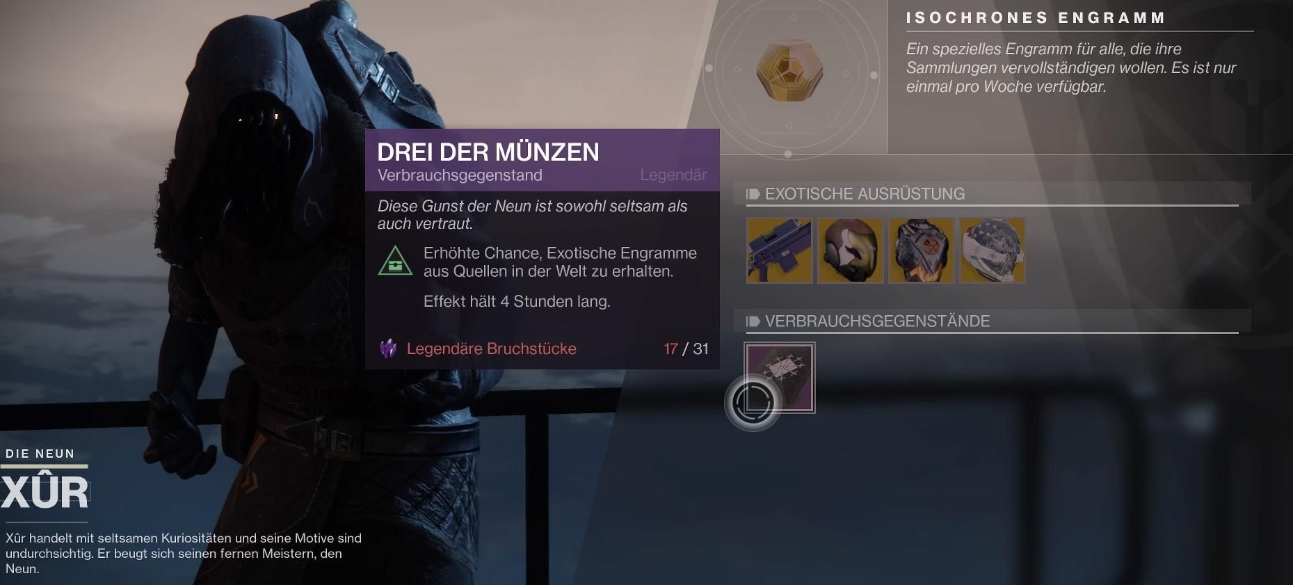 Destiny 2 Lohnen Sich Die Drei Der Münzen Mein Mmode