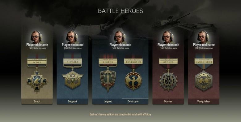 Epische Medaillen Armored Warfare