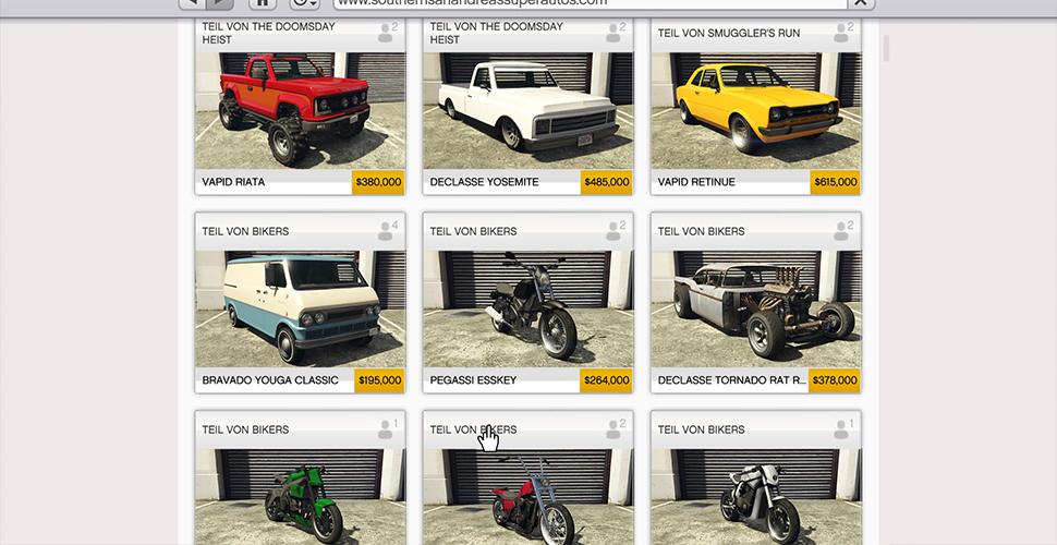 GTA 5 Online Doomsday Preise Günstig