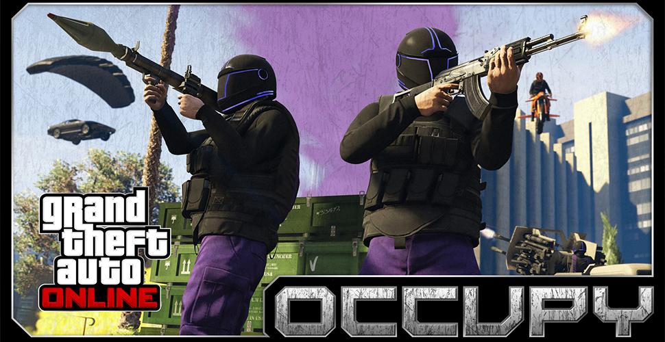 GTA 5 Online Occupy