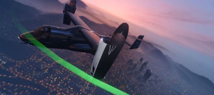 GTA 5 Online fliegende Kommandozentrale2