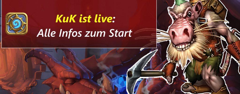 Hearthstone: Kobolde und Katakomben ist live! – Alle Infos zum Start