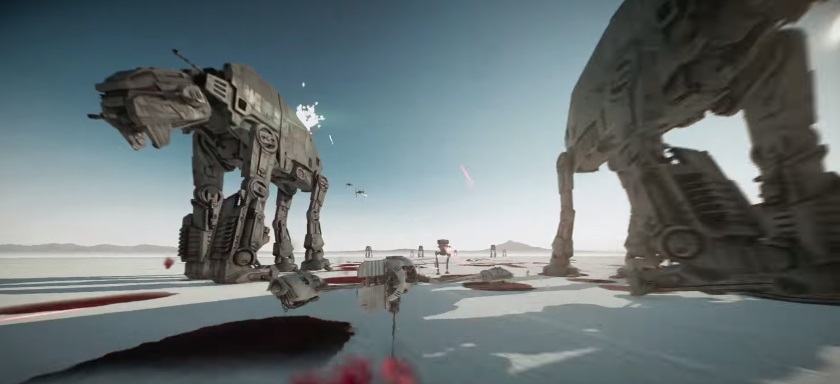 Last Jedi Battlefront 2 Map Crait