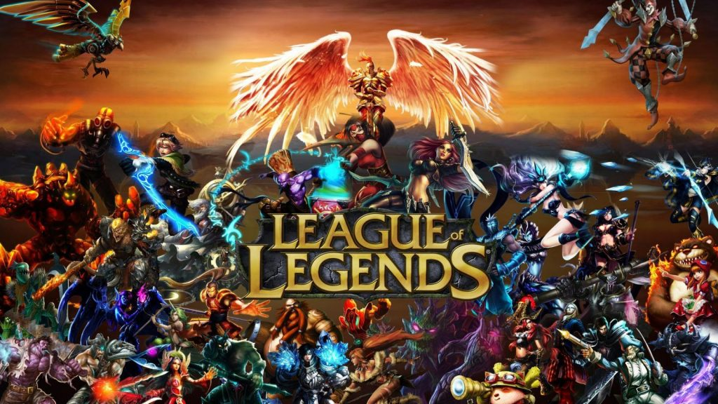 League of Legends Title Art LoL Titel