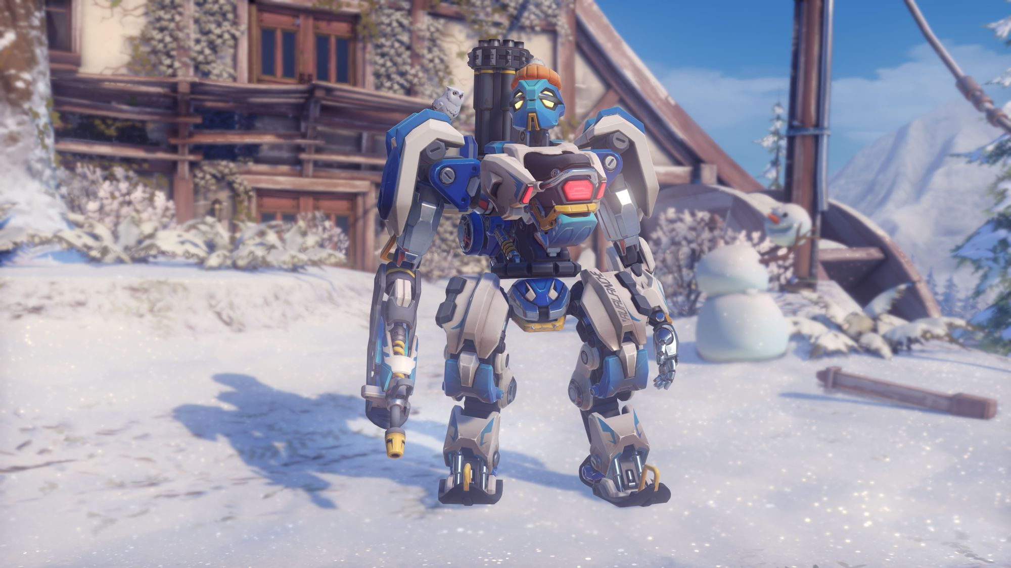 Overwatch WWW Bastion Skin