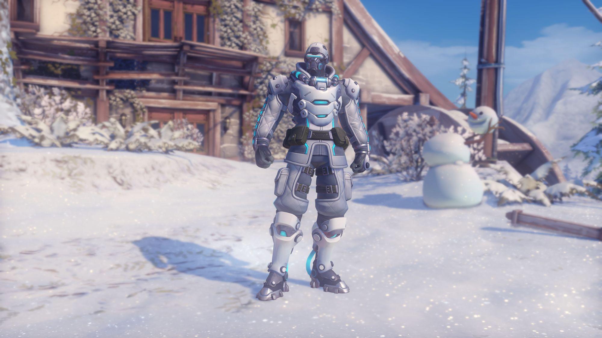 Overwatch WWW Soldier Skin