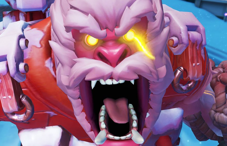 Overwatch Winston Rage