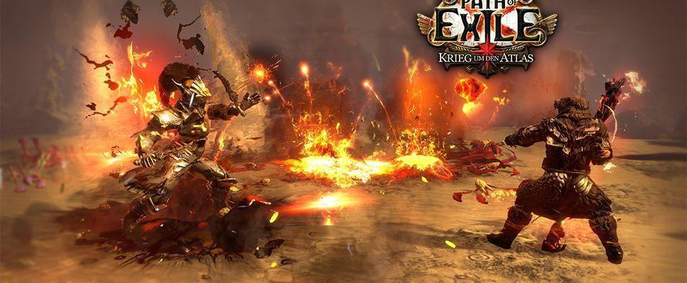 """Path of Exile schaltet """"War for the Atlas""""-DLC mit 32 neuen Karten frei"""